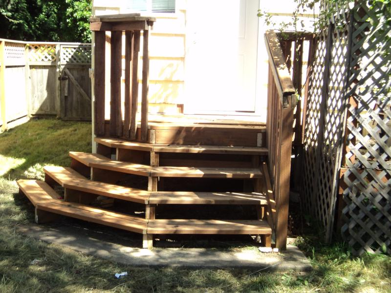 REPLACED/REBUILD FRONT DECK
